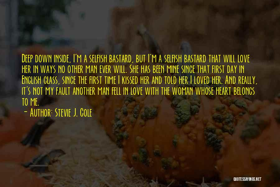 Heart Belongs Quotes By Stevie J. Cole