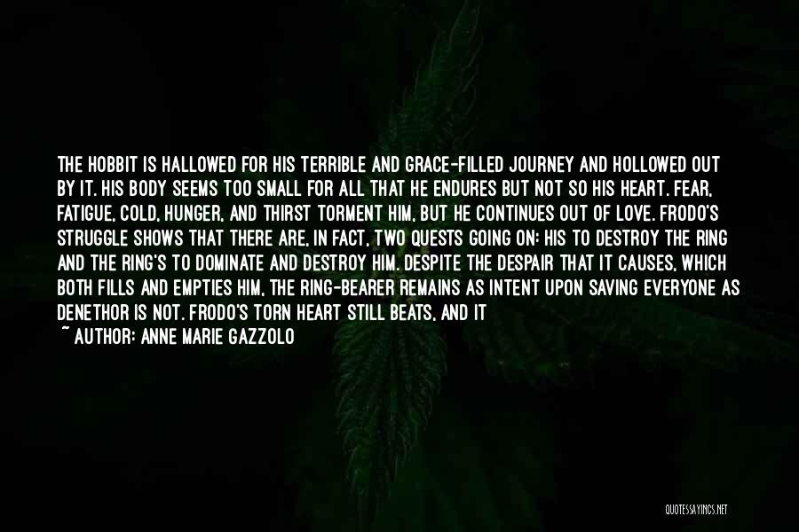 Heart Is Bleeding Quotes By Anne Marie Gazzolo