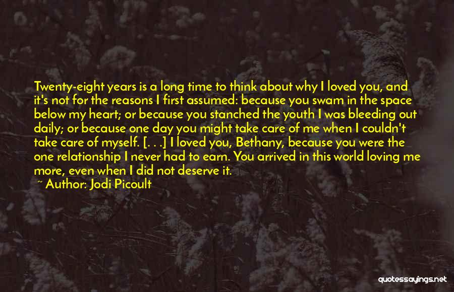 Heart Is Bleeding Quotes By Jodi Picoult