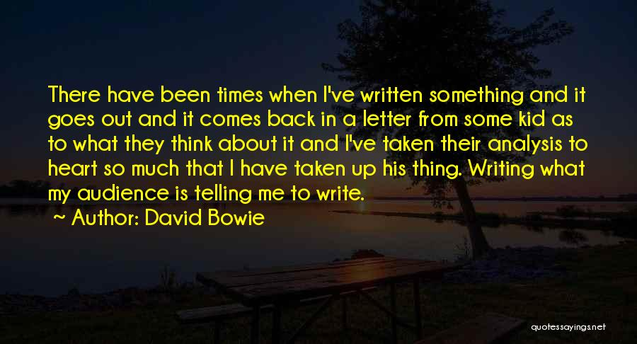 Heart Is Taken Quotes By David Bowie