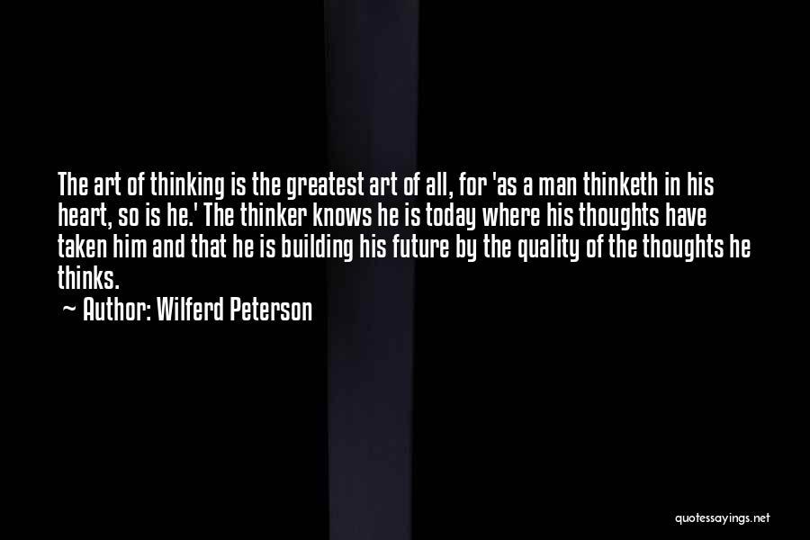 Heart Is Taken Quotes By Wilferd Peterson