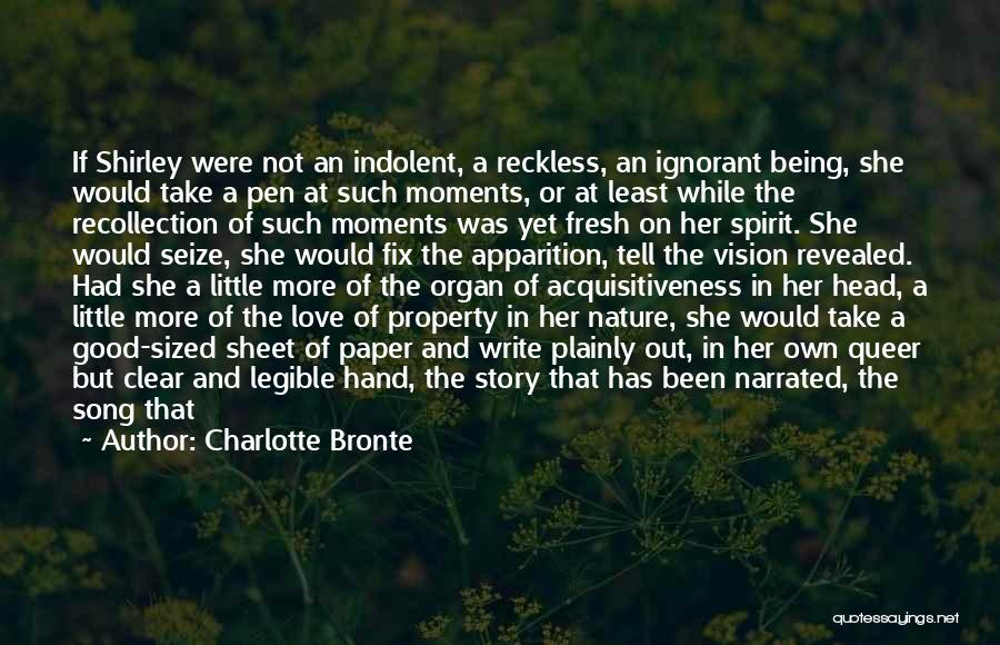 Heart Organ Quotes By Charlotte Bronte