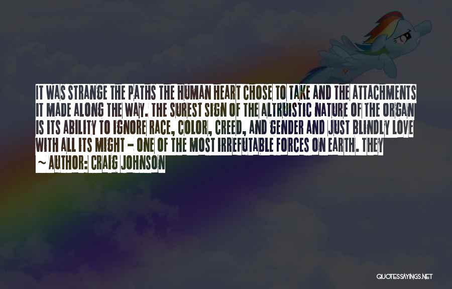 Heart Organ Quotes By Craig Johnson