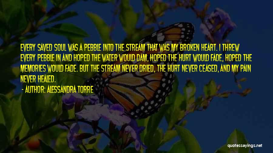 Heart Pain Quotes By Alessandra Torre