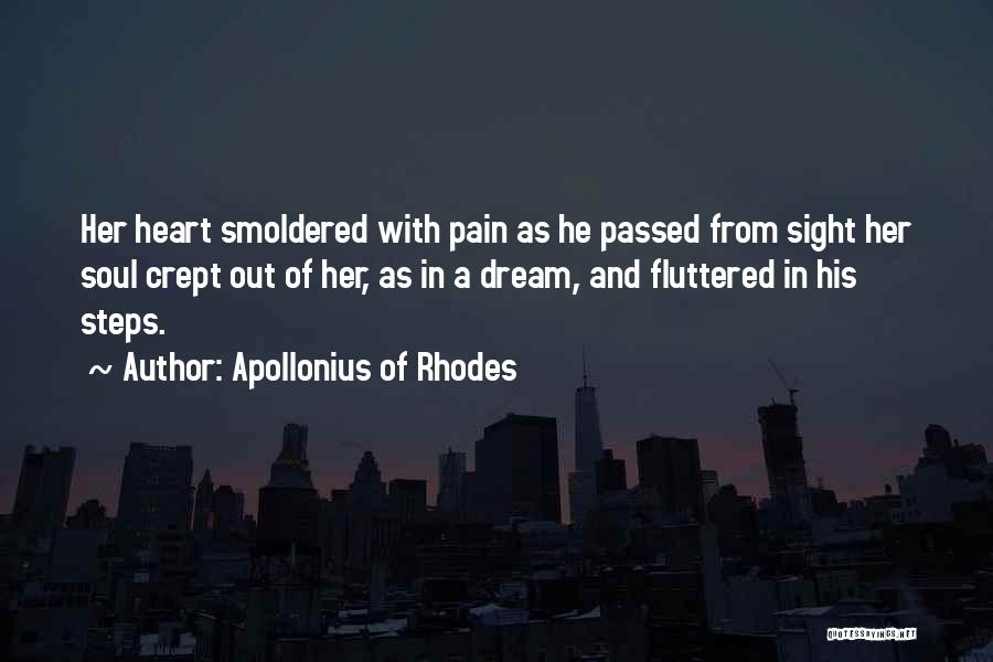 Heart Pain Quotes By Apollonius Of Rhodes