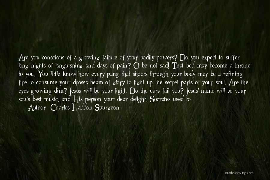 Heart Pain Quotes By Charles Haddon Spurgeon