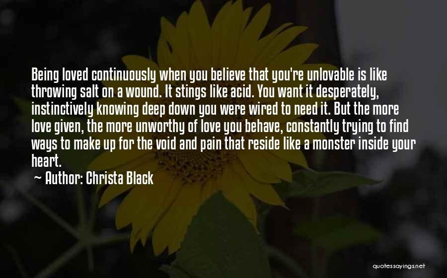 Heart Pain Quotes By Christa Black