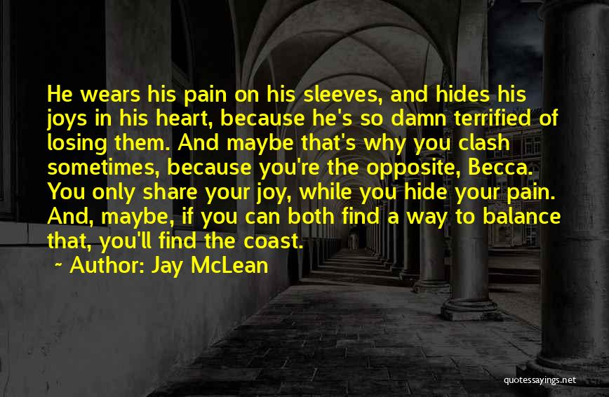 Heart Pain Quotes By Jay McLean