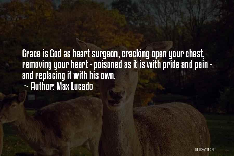 Heart Pain Quotes By Max Lucado
