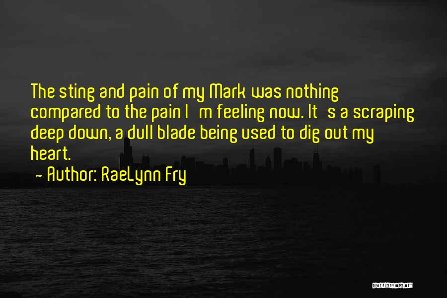 Heart Pain Quotes By RaeLynn Fry