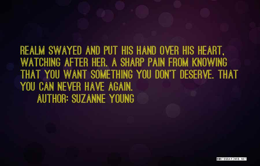 Heart Pain Quotes By Suzanne Young