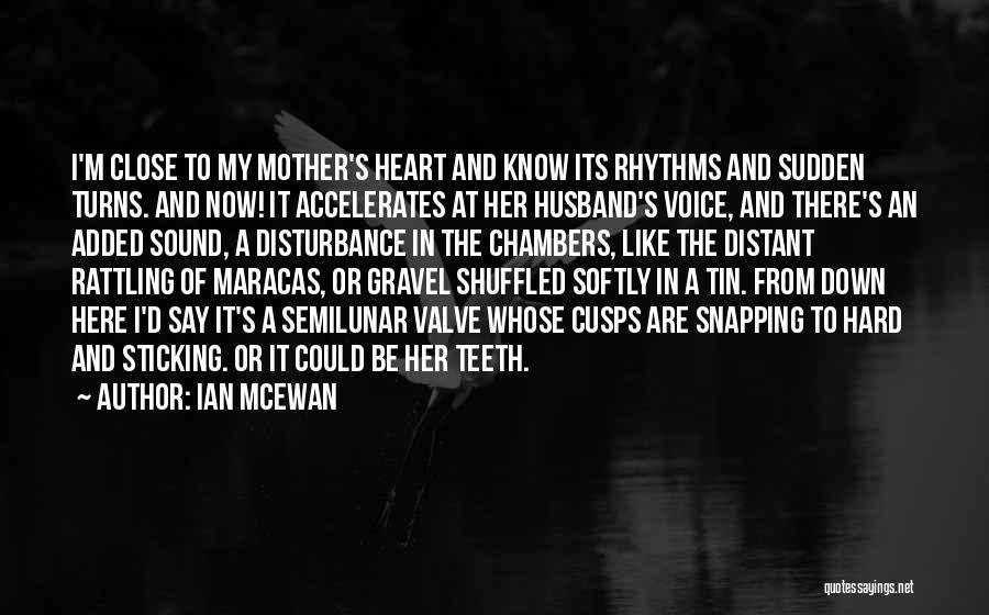Heart Valve Quotes By Ian McEwan