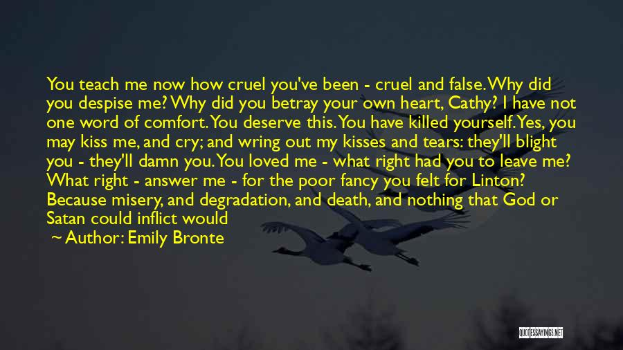 Heartbreak And Death Quotes By Emily Bronte