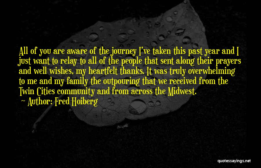 Heartfelt Thanks Quotes By Fred Hoiberg