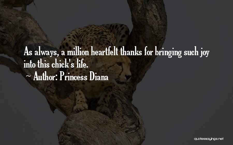 Heartfelt Thanks Quotes By Princess Diana