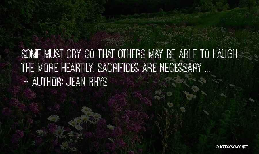 Heartily Sorry Quotes By Jean Rhys