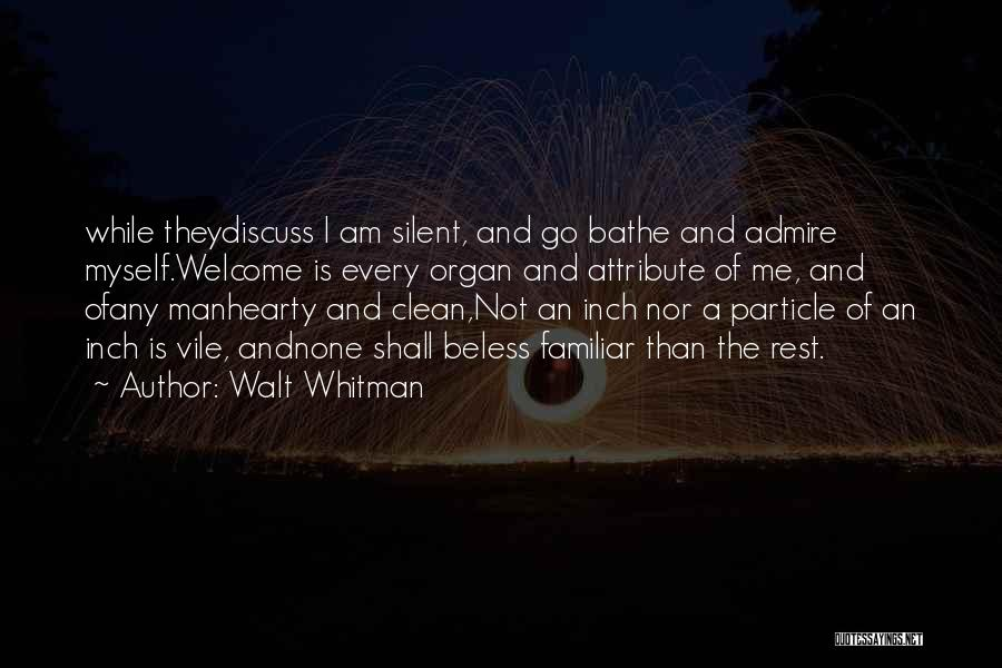 Hearty Welcome Quotes By Walt Whitman