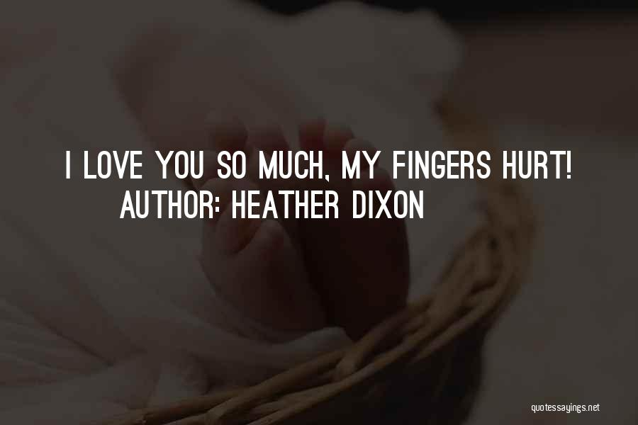 Heather Dixon Quotes 1887808