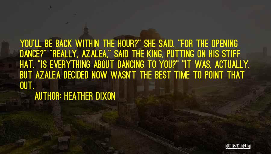 Heather Dixon Quotes 2197429