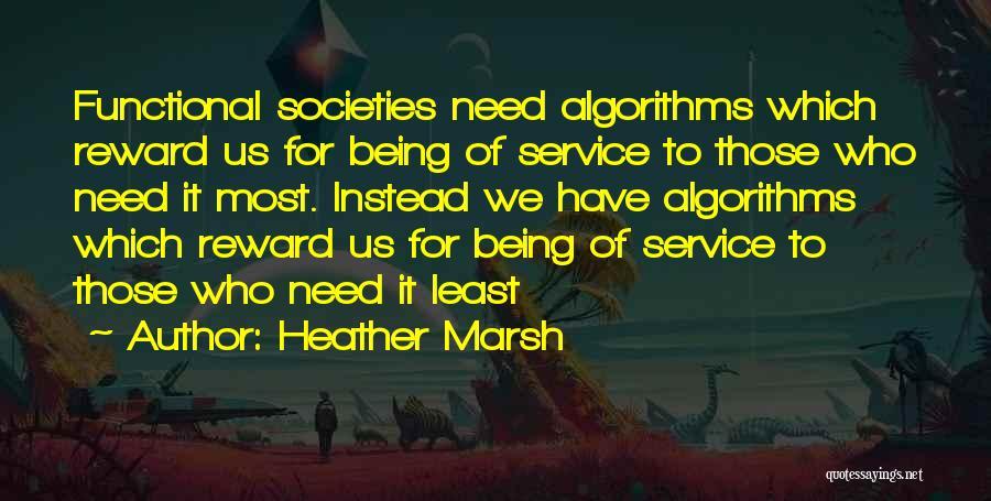 Heather Marsh Quotes 427397