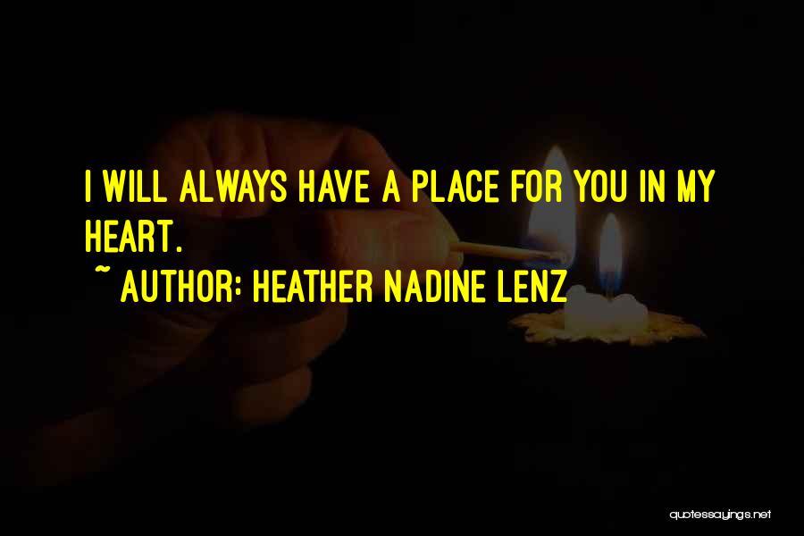 Heather Nadine Lenz Quotes 923562