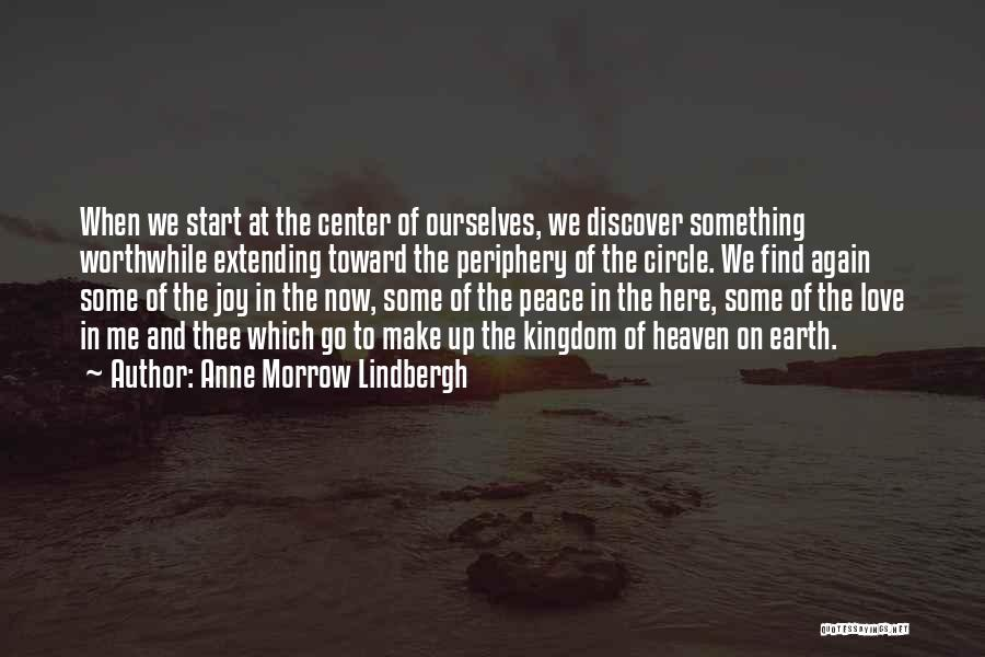 Heaven And Peace Quotes By Anne Morrow Lindbergh