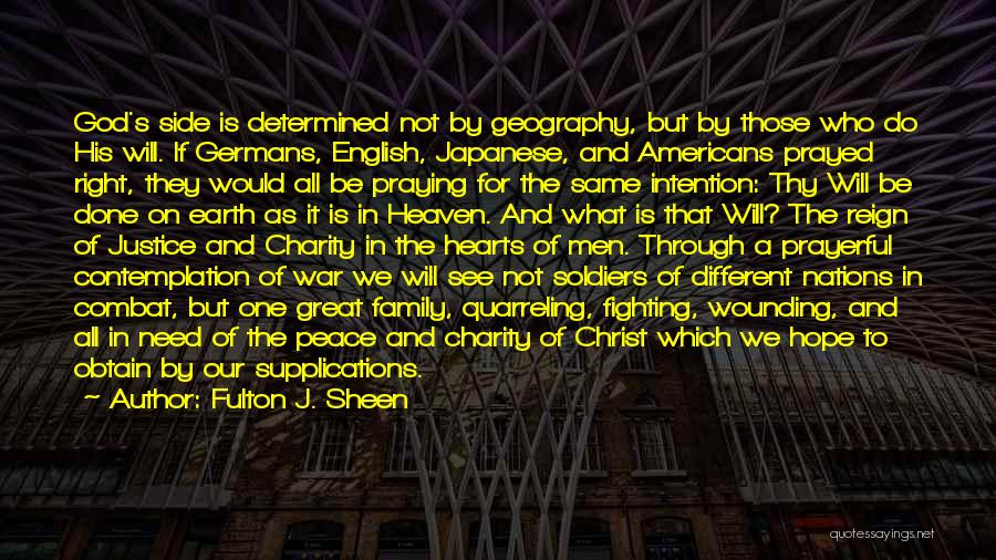 Heaven And Peace Quotes By Fulton J. Sheen