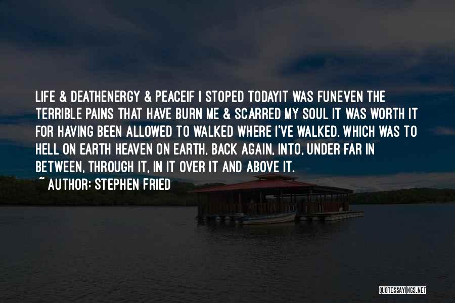 Heaven And Peace Quotes By Stephen Fried