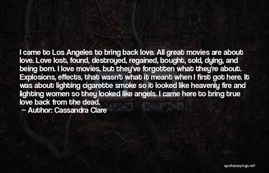 Heavenly Angels Quotes By Cassandra Clare