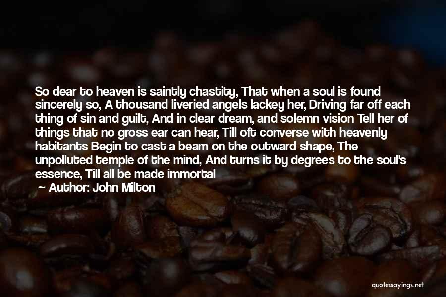 Heavenly Angels Quotes By John Milton