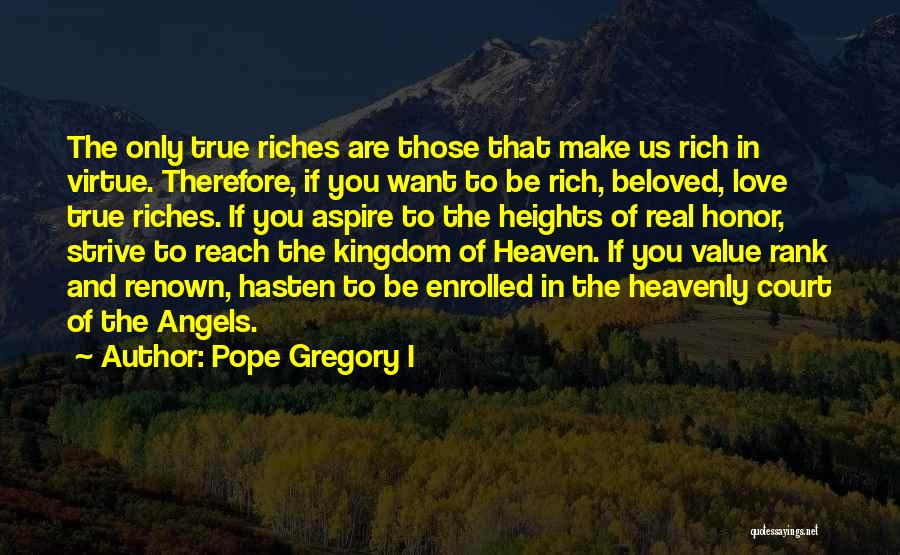 Heavenly Angels Quotes By Pope Gregory I