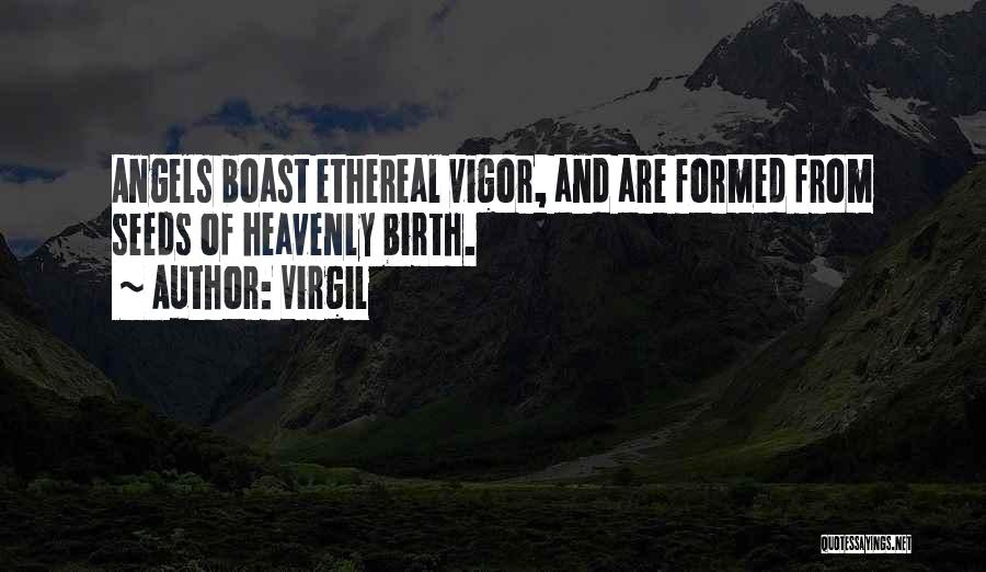 Heavenly Angels Quotes By Virgil