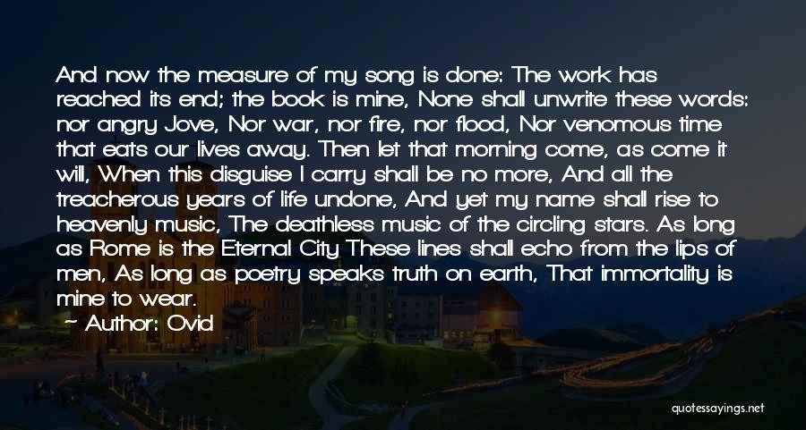 Heavenly Words Quotes By Ovid