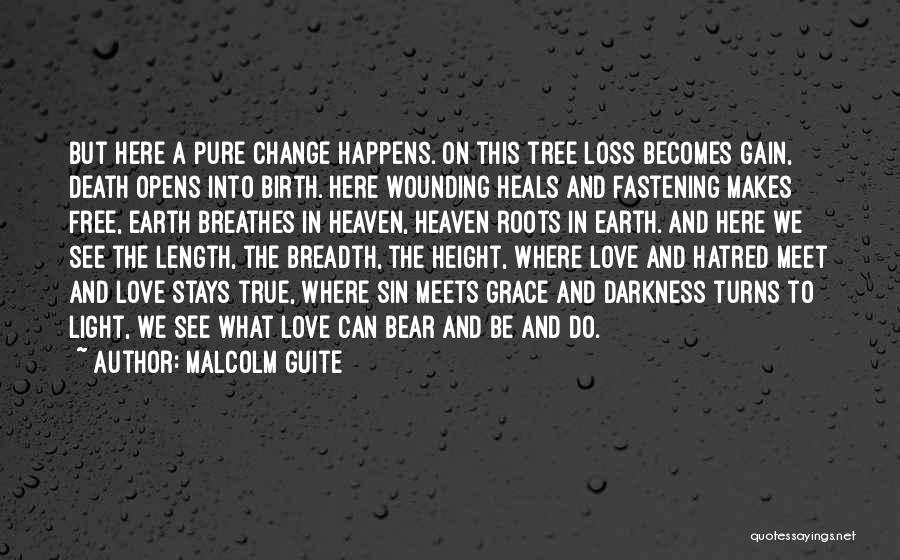 Heaven's Tree Quotes By Malcolm Guite