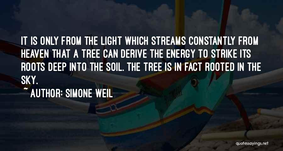 Heaven's Tree Quotes By Simone Weil