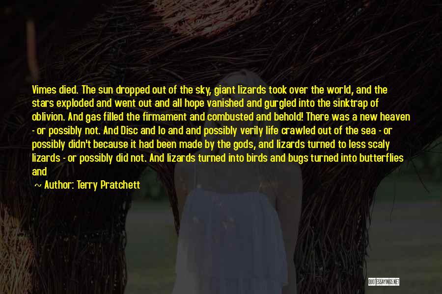 Heaven's Tree Quotes By Terry Pratchett
