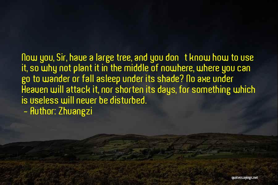 Heaven's Tree Quotes By Zhuangzi