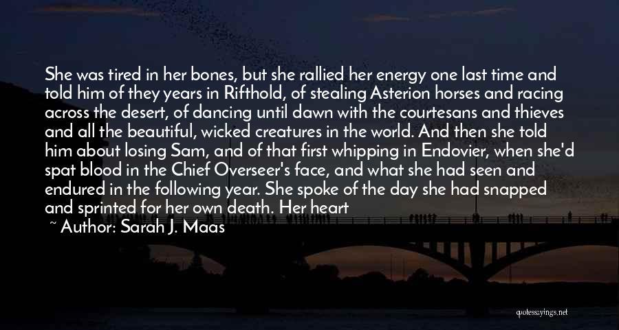 Heavy Eyelids Quotes By Sarah J. Maas