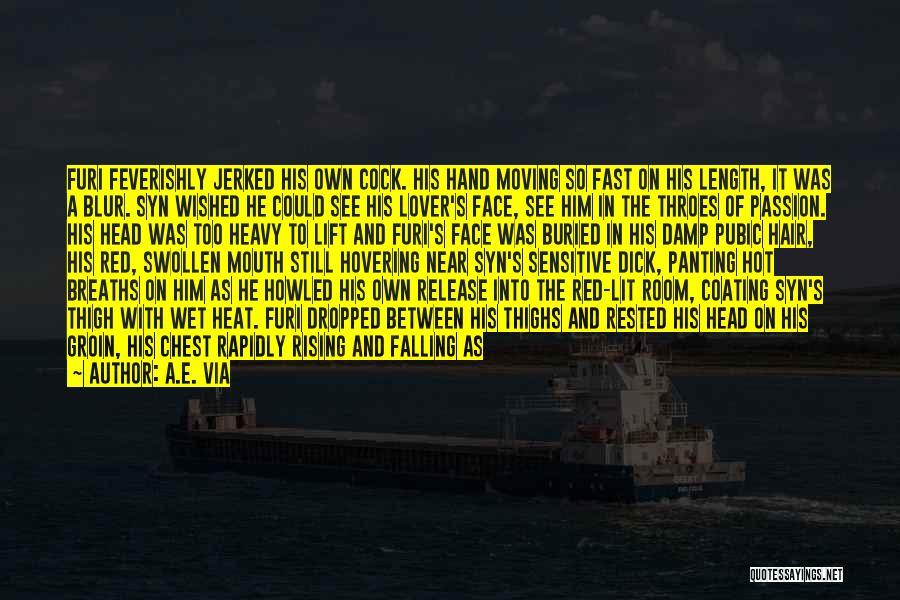 Heavy Head Quotes By A.E. Via