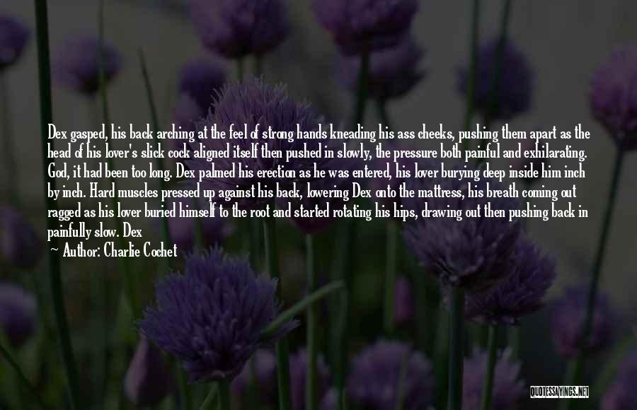 Heavy Head Quotes By Charlie Cochet