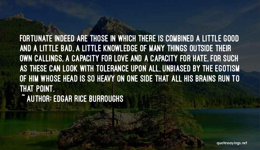 Heavy Head Quotes By Edgar Rice Burroughs