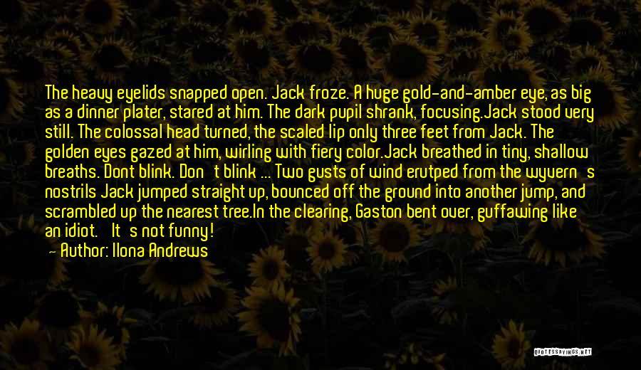 Heavy Head Quotes By Ilona Andrews