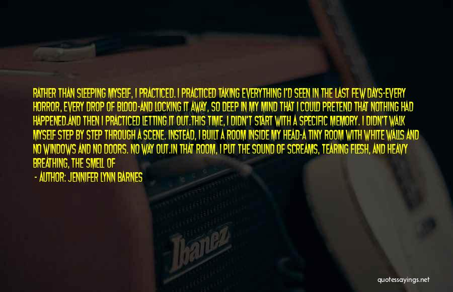 Heavy Head Quotes By Jennifer Lynn Barnes
