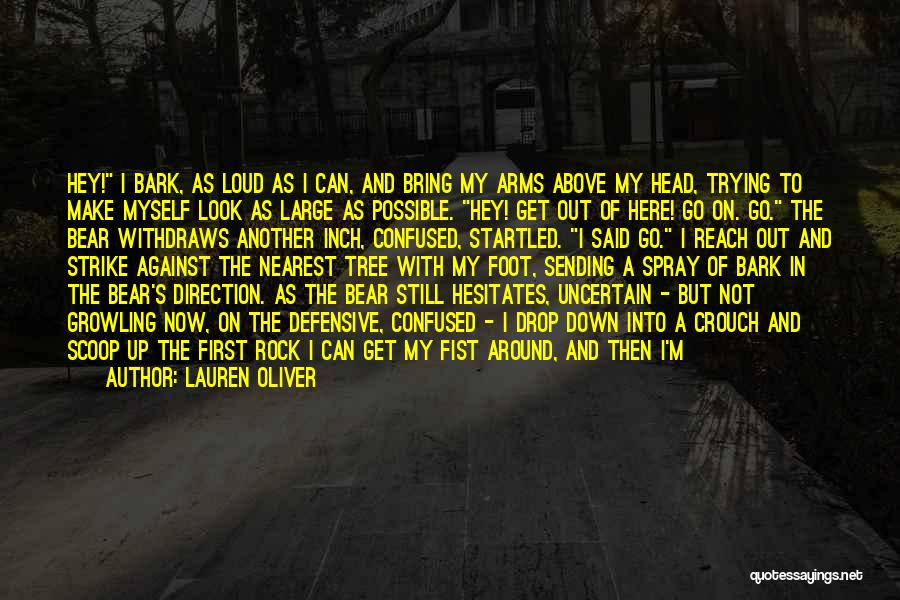 Heavy Head Quotes By Lauren Oliver