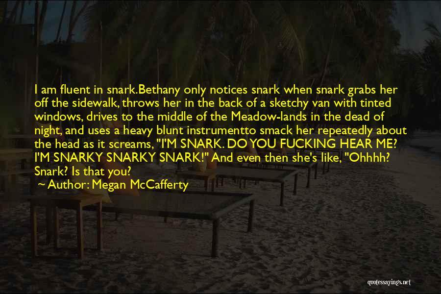 Heavy Head Quotes By Megan McCafferty