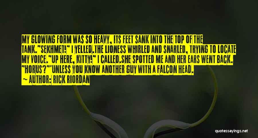 Heavy Head Quotes By Rick Riordan
