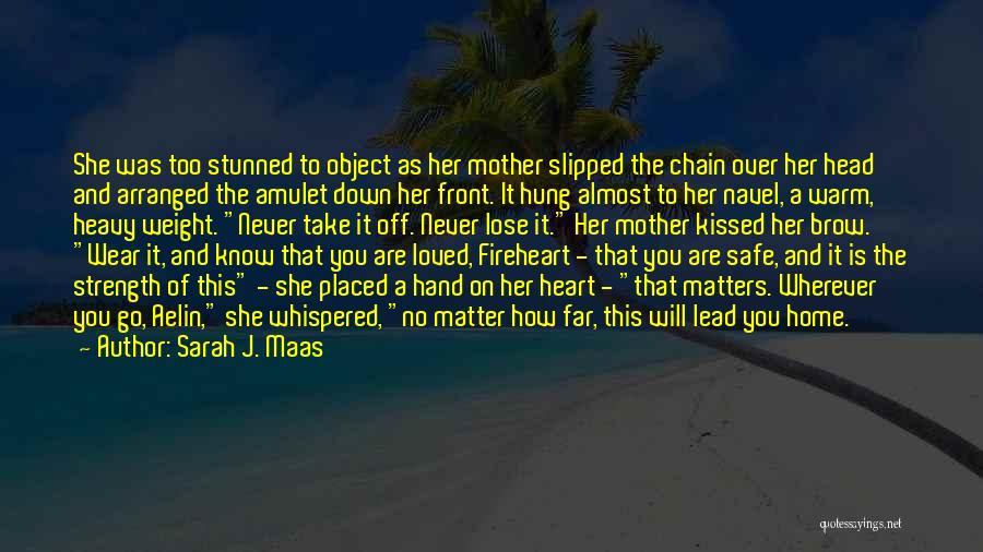 Heavy Head Quotes By Sarah J. Maas
