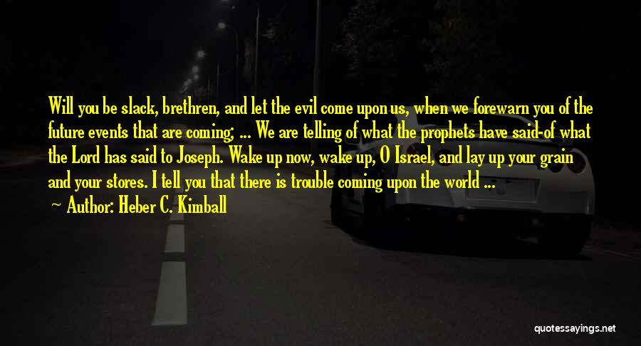 Heber C. Kimball Quotes 2079144