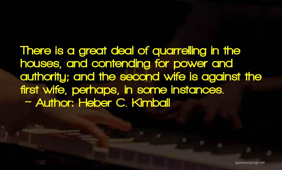 Heber C. Kimball Quotes 574208