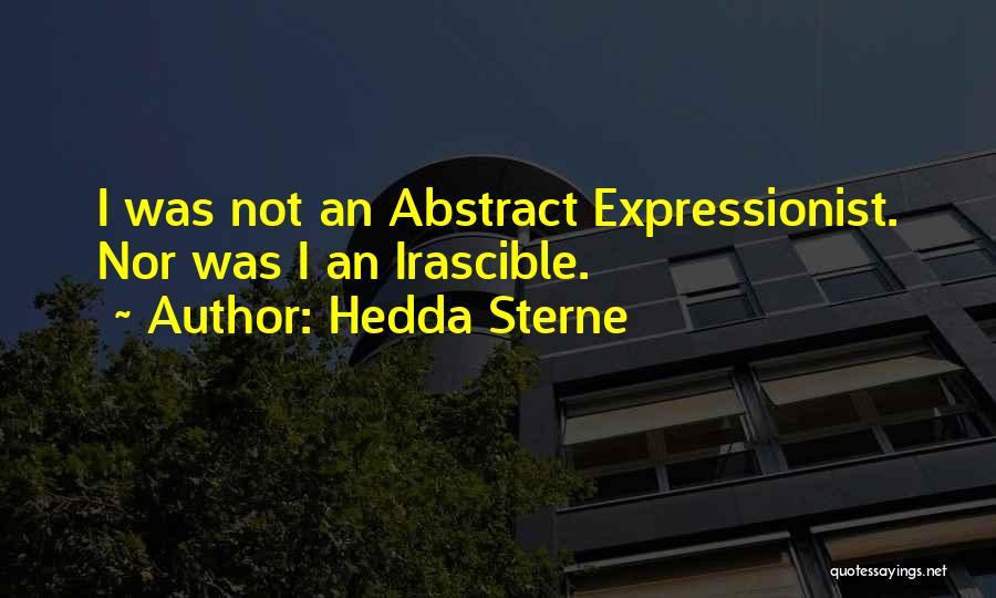 Hedda Sterne Quotes 1421894